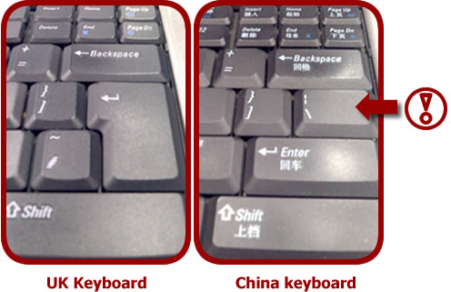 chinese and english dell laptop keyboards