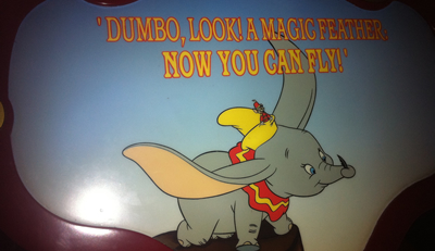 The Dumbo ride at Disneyland; it delights, people will queue up for it, even though there is nothing special about the ride itself.  Carousel rides are nice enough but forgettable, the Dumbo ride is memorable and an experience to enjoy